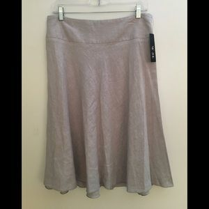 🍋NEW! Nic+ Zoe Linen Skirt 10